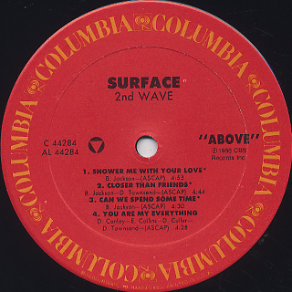 Surface / 2nd Wave label