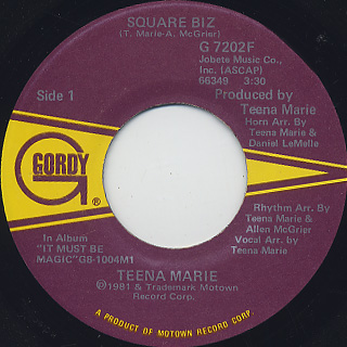 Teena Marie / Square Biz (45)