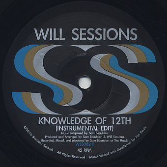 Will Sessions ft. Elzhi / Knowledge Of 12th back