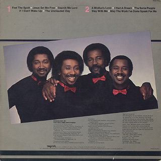 Williams Brothers / Feel The Spirit back