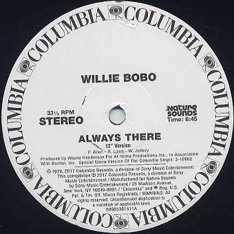 Willie Bobo / Always There c/w Kon's Edit back