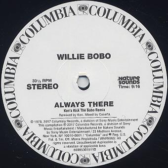 Willie Bobo / Always There c/w Kon's Edit label