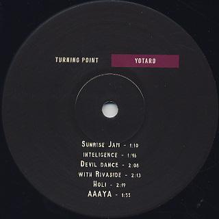 Yotaro / Turning Point label