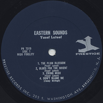Yusef Lateef / Eastern Sounds label