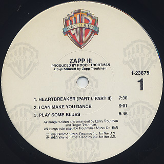 Zapp / III label