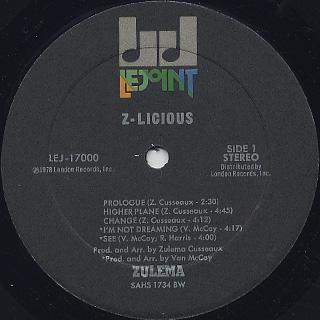 Zulema / Z-Licious label