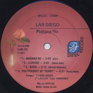 Las Diego / Mañana No label