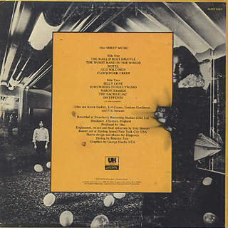 10cc / Sheet Music back