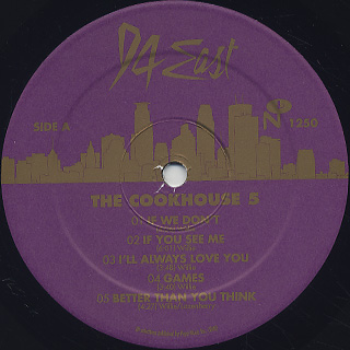 94 East / The Cookhouse 5 label