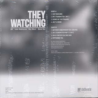 AG & John Robinson / They Watching back