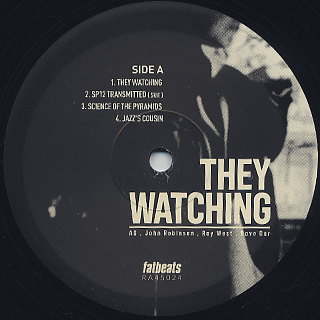 AG & John Robinson / They Watching label