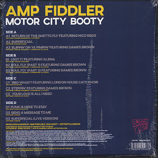 Amp Fiddler / Motor City Booty (2LP) back