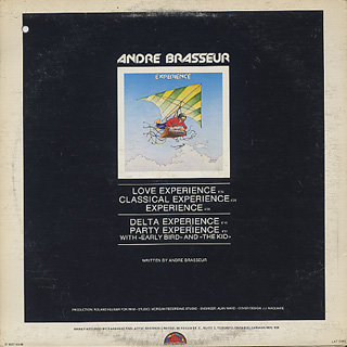 Andre Brasseur / Experience back