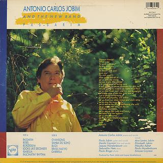Antonio Carlos Jobim / Passarim back