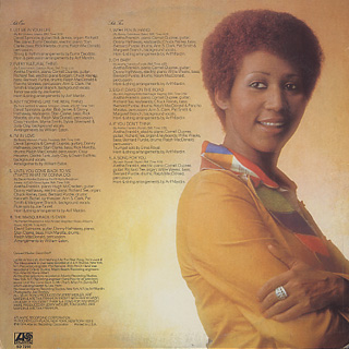 Aretha Franklin / Let Me In Your Life back