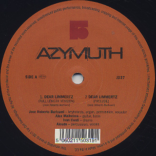 Azymuth / Dear Limmertz