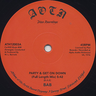 BAB / Party & Get Down