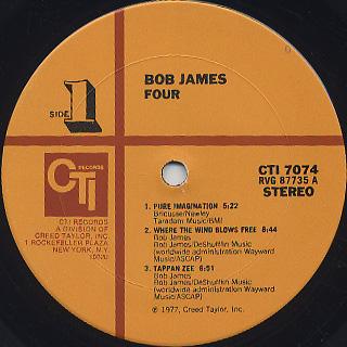 Bob James / 4 label