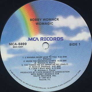 Bobby Womack / Womagic label