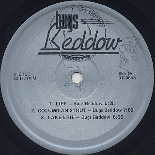 Bugs Beddow / S.T. label