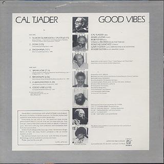 Cal Tjader / Good Vibes back
