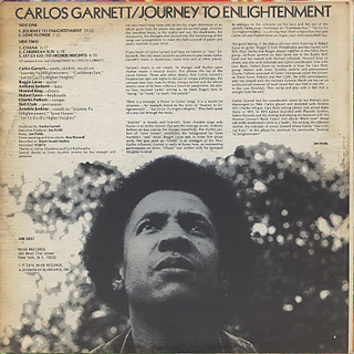 Carlos Garnett / Journey To Enlightenment back