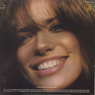 Carly Simon / No Secrets back
