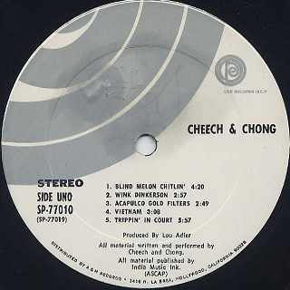 Cheech And Chong / S.T. label