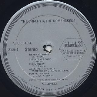 Chi-Lites / Romanceers / S.T. label