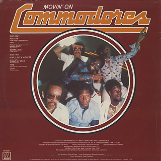 Commodores / Movin' On back