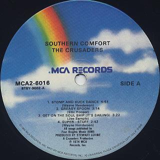 Crusaders / Southern Comfort label