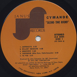 Cymande / Second Time Round label