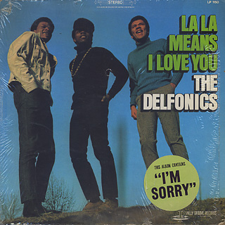 Delfonics / La La Means I Love You front