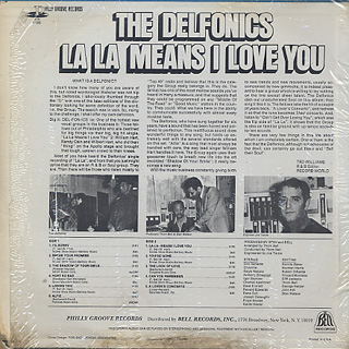 Delfonics / La La Means I Love You back