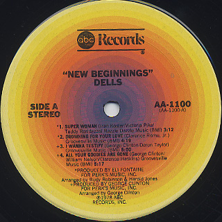 Dells / New Beginnings label