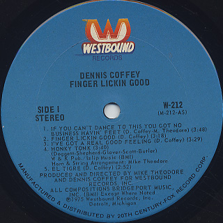 Dennis Coffey / Finger Lickin Good label