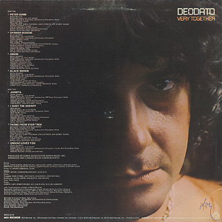 Deodato / Very Together back