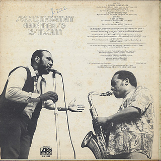 Eddie Harris and Les McCann / Second Movement back