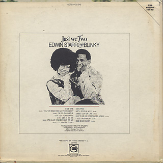 Edwin Starr & Blinky / Just We Two back