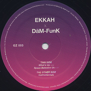Ekkah x Dam-Funk / What's Up