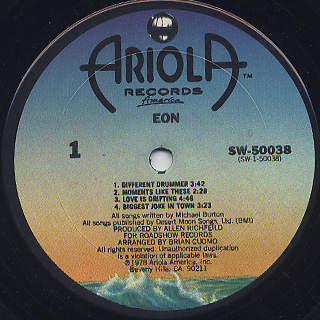 Eon / S.T. label