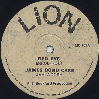 Errol Holt / Red Eye back