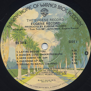 Eugene Record / S.T. label