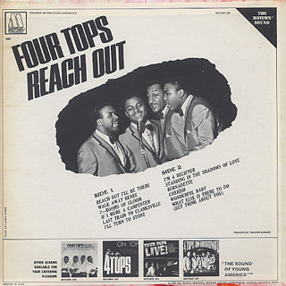 Four Tops / Four Tops Reach Out back