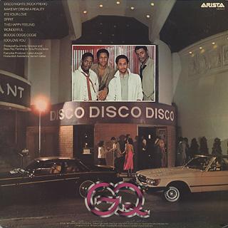 GQ / Disco Night back