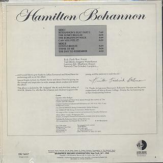 Hamilton Bohannon / Bohannon back
