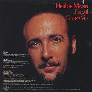 Herbie Mann / Brazil Once Again back