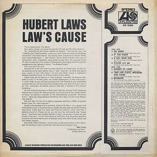 Hubert Laws / Laws' Cause back