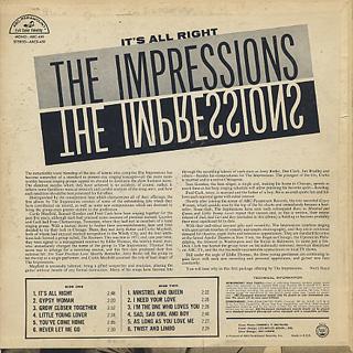 Impressions / S.T. back