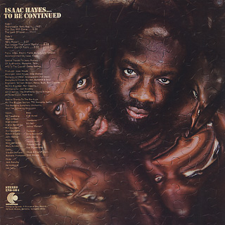 Isaac Hayes / ...To Be Continued back